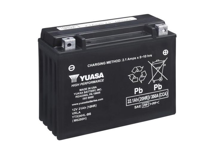 Yuasa YTX24HL-BS Battrey. *High Performance Maintenance Free*