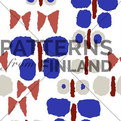 Päiväperho by Maria Tolvanen  #patternsfromfinland #mariatolvanen #pattern #surfacedesign #finnishdesign