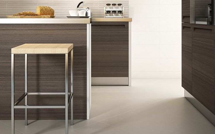 Space iris tile contemporary kitchen design for the for Kitchen design 6 x 8