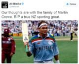 Martin Crowe: Ex-New Zealand captain dies of cancer at 53 - BBC Sport