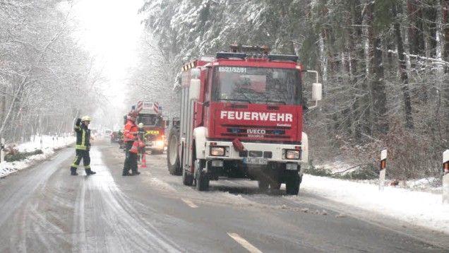 Sturm Egon in Ludwigslust: Ganze Region im Flockenwirbel | svz.de