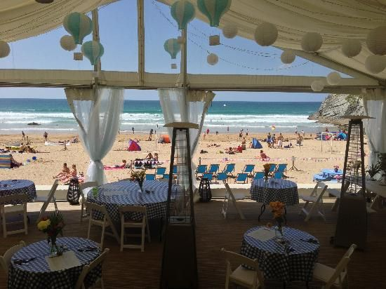 Lusty Glaze Beach Restaurant - Lusty Glaze, Cornwall