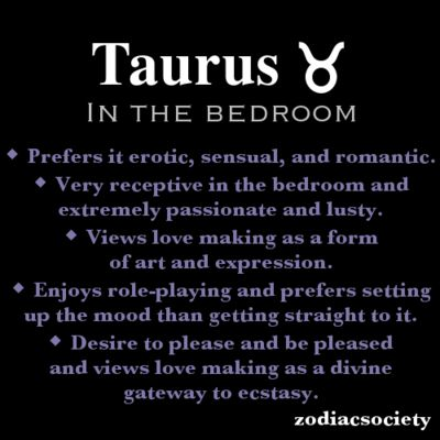Taureans marriage and sex horoscope