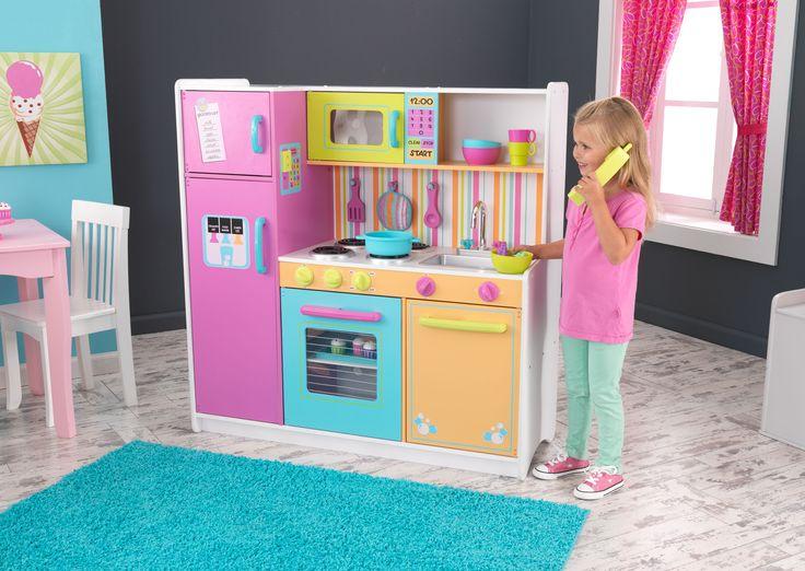 Kid Kraft Deluxe Big & Bright Kitchen - 53100