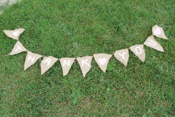Burlap Signs  Custom Made For Your Event  by TwineWithATwist, $15.00