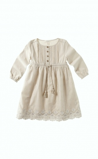 Pure Kids size 4 Prairie Embroidery Dress