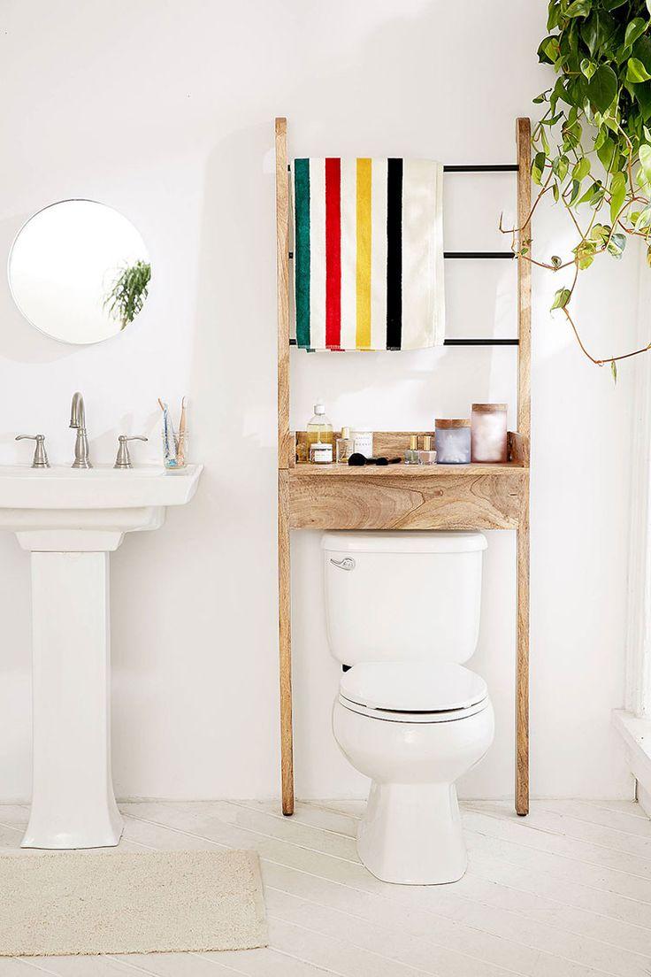 storage essentials for a small bathroom via jojotastic on jojotastic.com