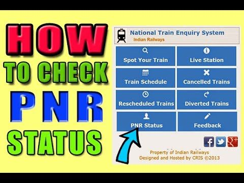 How to check PNR status in hindi | PNR status ki jankari mobile pe kaise...