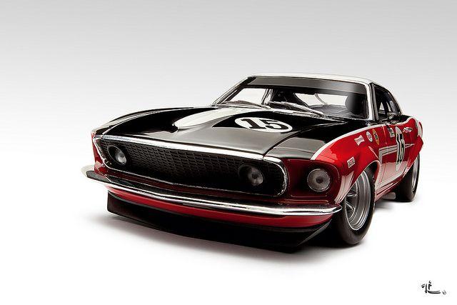 Ford Mustang Boss Trans-Am race car 1969