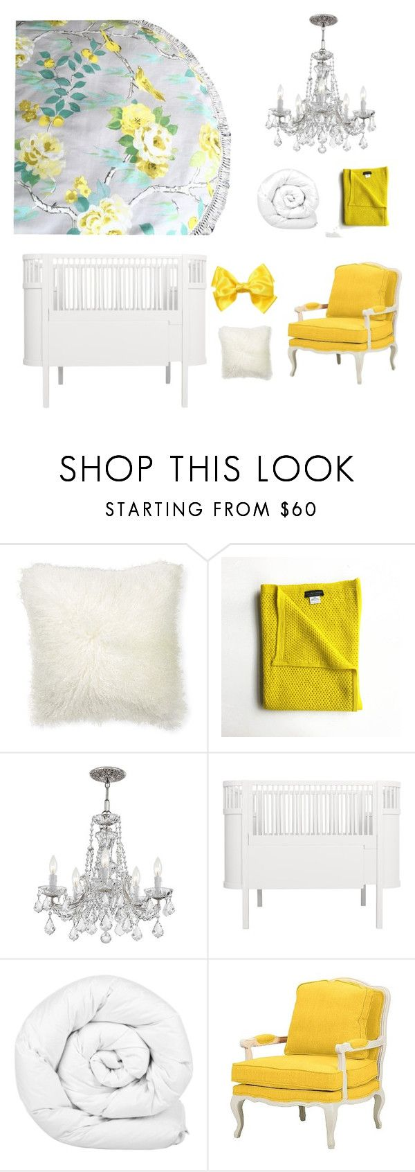 """Yellow Canary Play Mat"" by styled-by-olivia-grace on Polyvore featuring interior, interiors, interior design, home, home decor, interior decorating, Williams-Sonoma, Sebra, Brinkhaus and Baxton Studio"