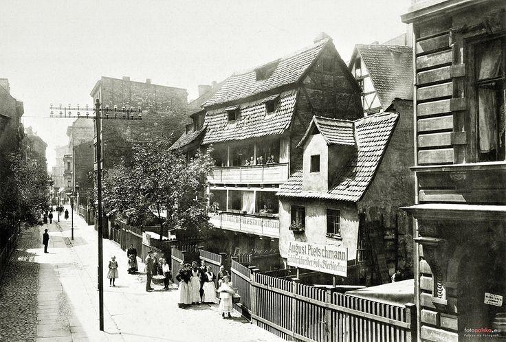 Wrocław - Zaułek Koci (Kätzeohle) (1896)