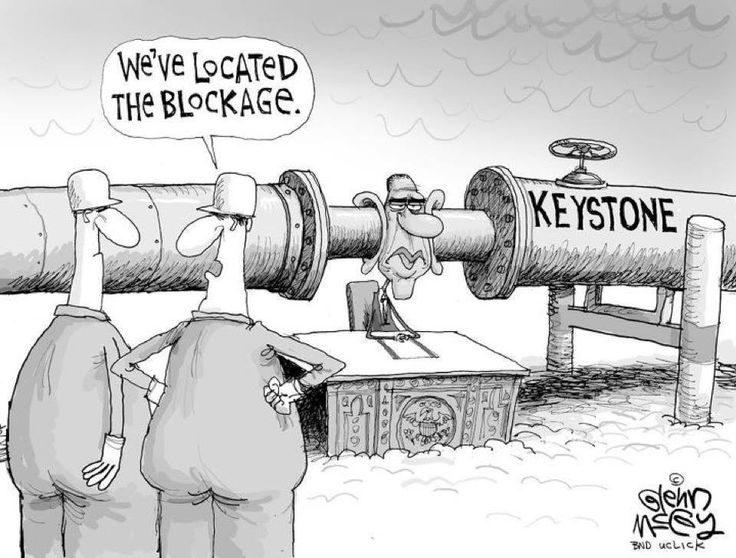 keystone pipeline. Keystone Pipeline Truths. More Poison In The Pipeline. This is the Keystone that Boner and McConnell tell you is a great idea and will bring some many, many jobs. Uh, no . . . We don't get any jobs and we don't get any oil. it is a pipeline straight to China.