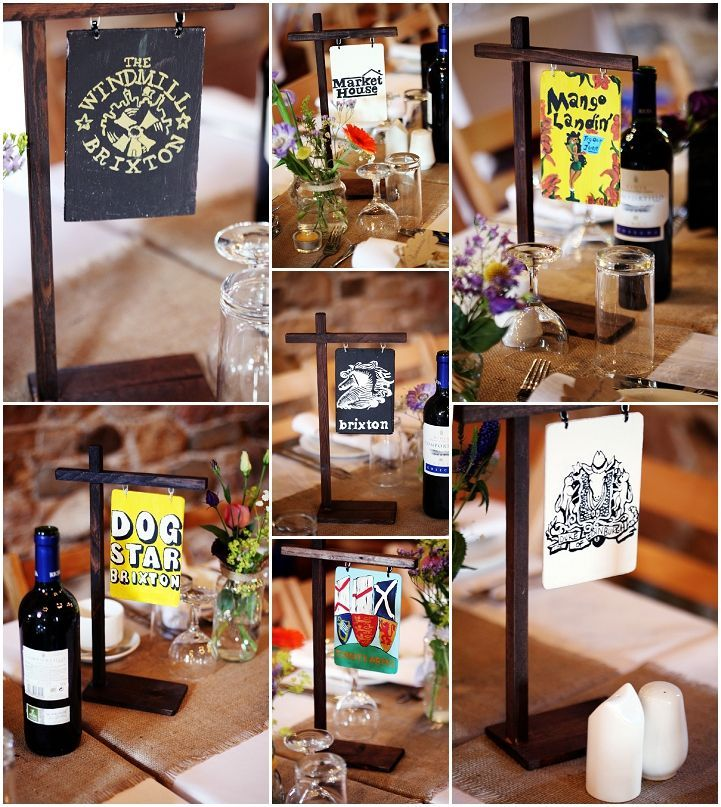 Image result for pub table theme wedding