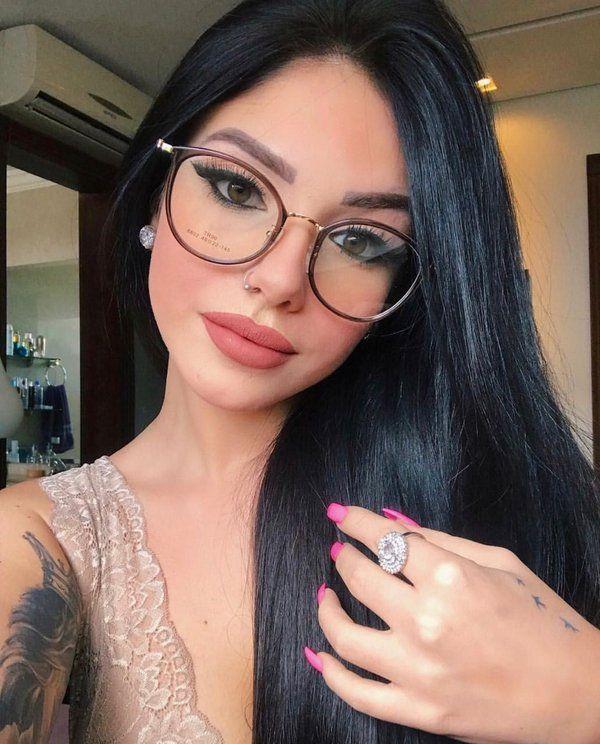 f7aa596d4 Armação de Grau 840 Transparente Preto | Inspiração in 2019 | Óculos, Óculos  feminino, Óculos estilosos