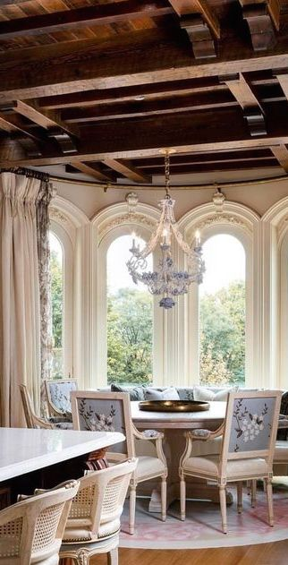 Bhs Tuscan Homes French Farmhouse Southern Charm Window Treatments Provence Spanish Dining Rooms For The Home