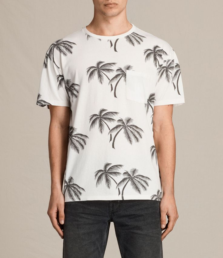 Turn heads with tropical palm prints