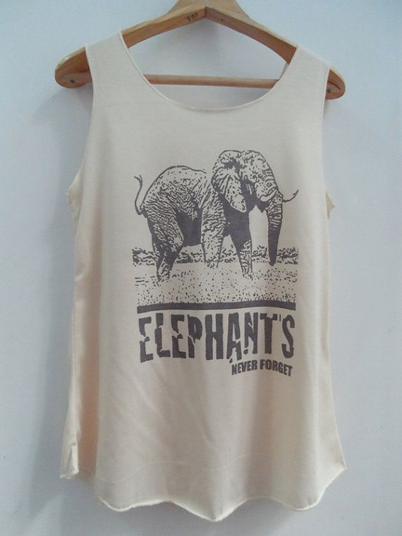 ELEPHANT Shirts Tank top Pop Punk Rock Tank Top Vest  unisex T shirt lady T-Shirt Size S,M,L on Etsy, $16.61 AUD