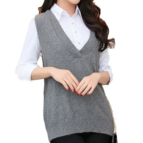 Aliexpress.com : Buy Cashnere Vest Women Sweaters And Pullovers Fashion Women 2015 Casual Dress Warm sweaters Women Vest Women Sleeveless Sweater from Reliable sweater organizer suppliers on CC Cashmere