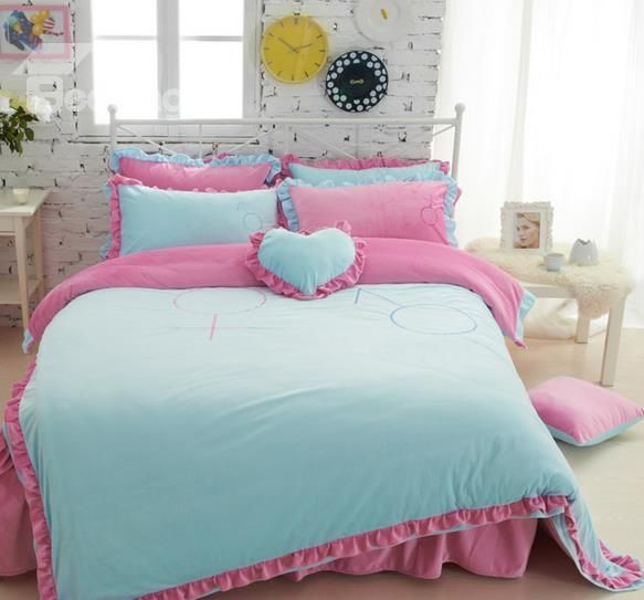 17 Best Images About Comfortably Bedroom Decor With: 17 Best Images About Girls Bedding-Bedroom On Pinterest