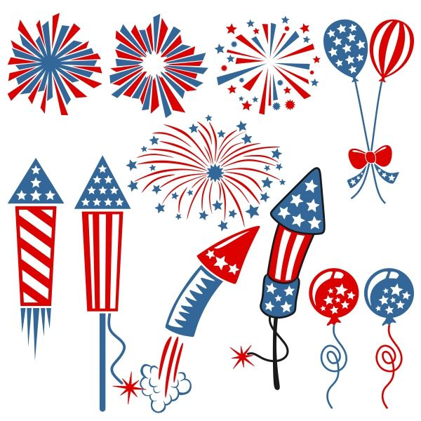 Fireworks SVG Cuttable Designs | svg files | How to draw ...