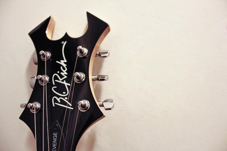 BC RICH Warlock Revenge guitar head