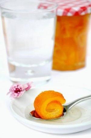 Greek traditional Οrange spoon sweets