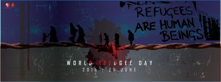 REFUGEES ARE HUMAN BEINGS  world refugee day | 20 june 2016 . . . . . . . . . . . . . . . .. #refugeeday #coverphoto #2016 #fayzehassn  #bangladesh
