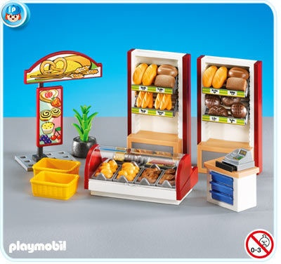 ZOMG, German bakery by Playmobil. Want!