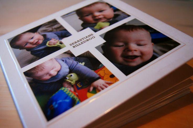 Café á la Marie: DIY Baby Billedbog Make your own board book with family photos.