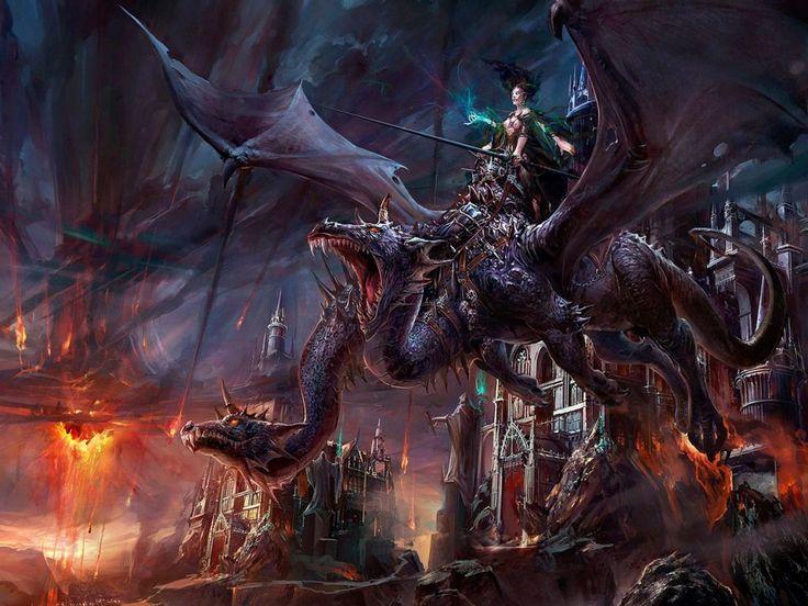 dama de los dragones