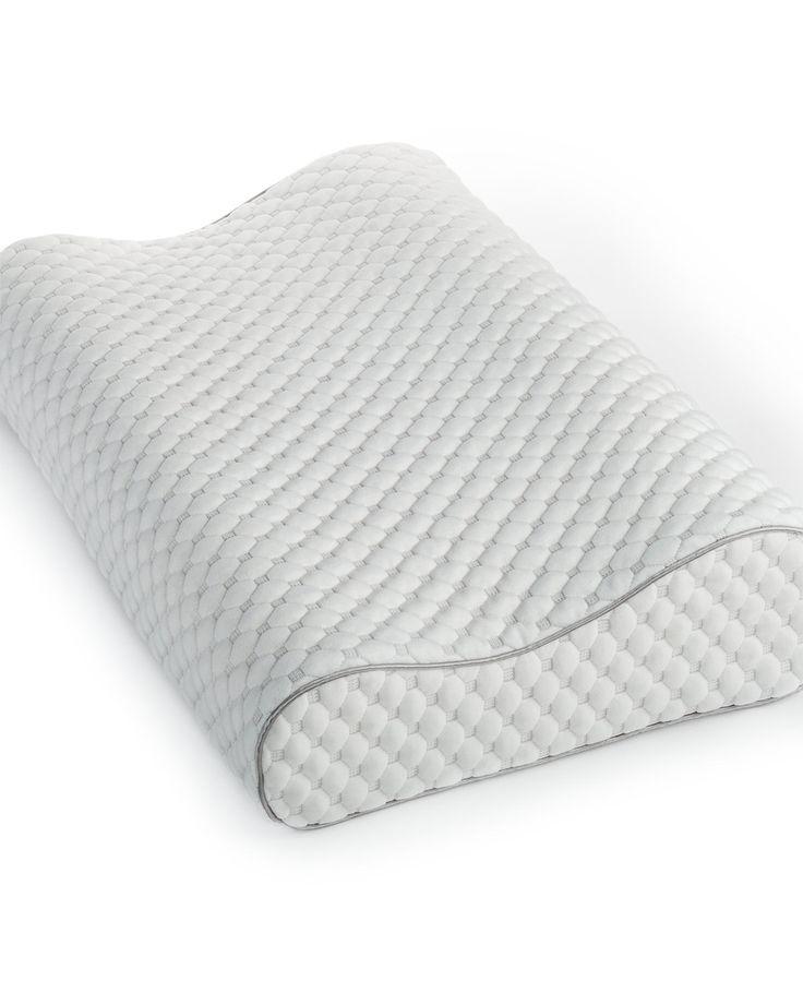 Martha Stewart Collection Dream Science Memory Foam Pressure Point Relief Contour Pillow