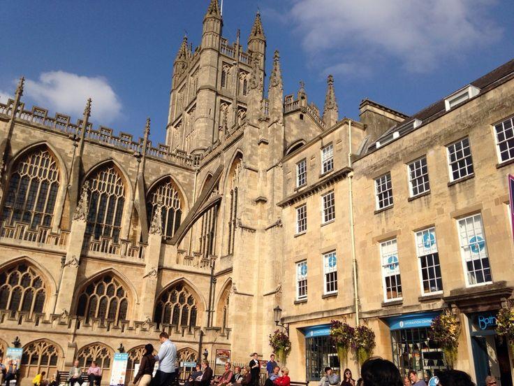 Bath Abbey in Bath, Bath and North East Somerset