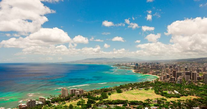 Oahu aerial shot #Hawaii