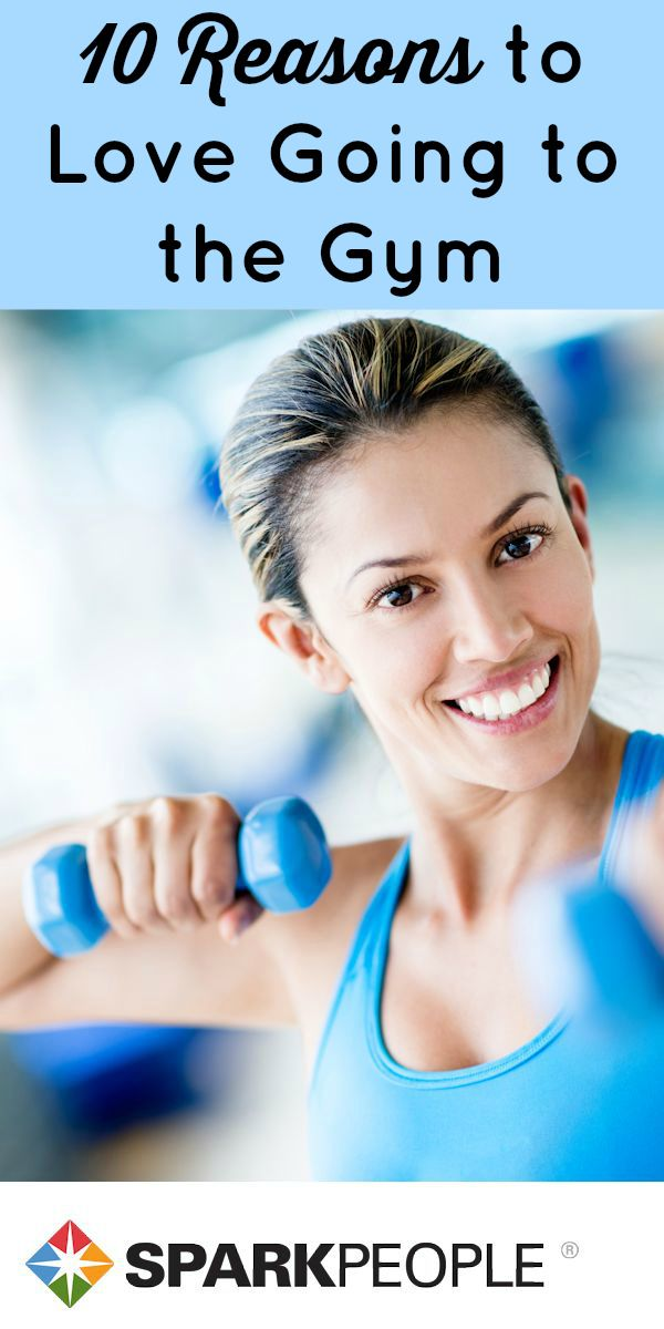 Learn to Love Going to the Gym via @SparkPeople
