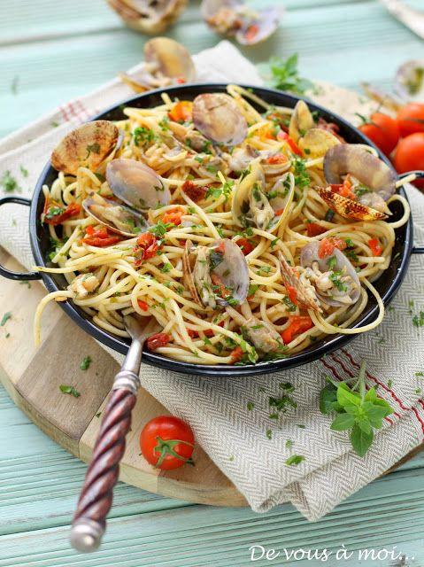 De vous à moi...: Spaghetti Alle Vongole