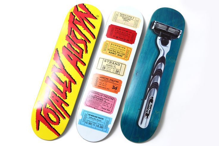 3D skateboards. Next shred sled possibility.