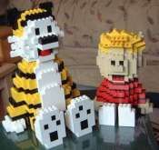 LEGO Calvin and Hobbes