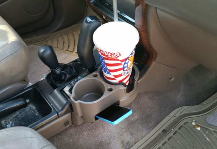 3rd Gen 4Runner Double Cup Holder by BH3DPrinting on Etsy https://www.etsy.com/listing/239166433/3rd-gen-4runner-double-cup-holder