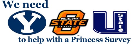 """BYU, Utah State and OSU are hosting a study on """"Princesses"""" & we need help from our Utah friends."""
