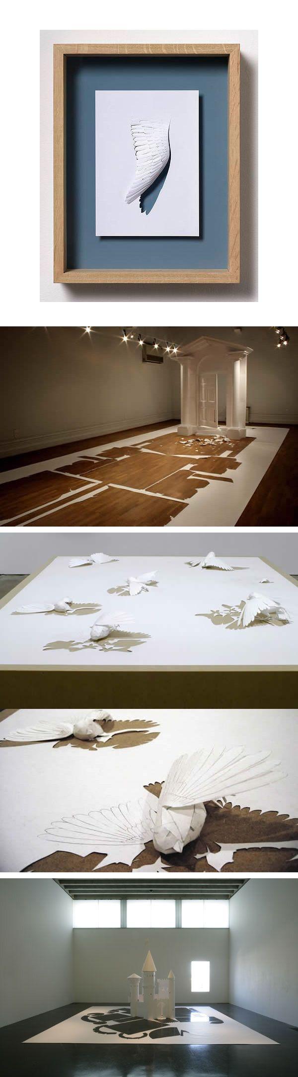Peter Callesen - 100 créations uniques à découvrir sur l'art du papier ! - graphisme