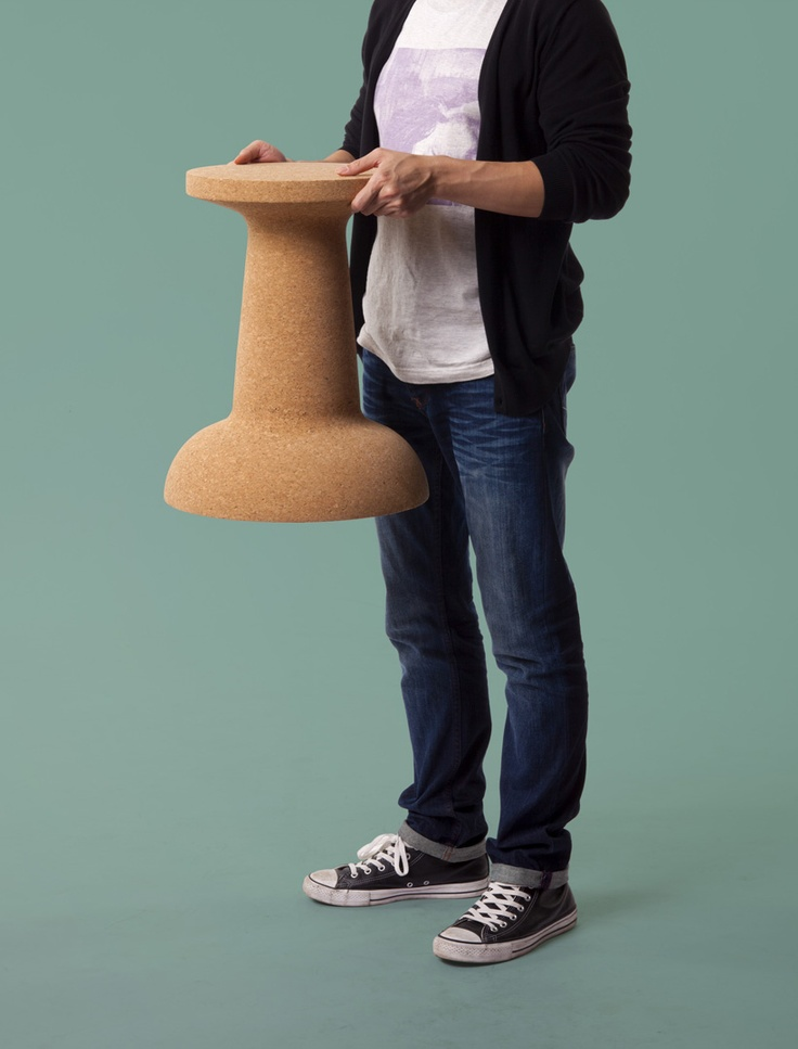 Pushpin Stool   Side Table By Kenyon Yeh For Cooima