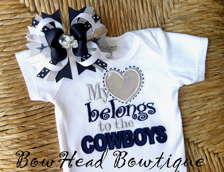 Dallas Cowboys Baby Clothes Impressive 43 Best Dallas Cowboys Baby Images On Pinterest  Baby Girls Inspiration