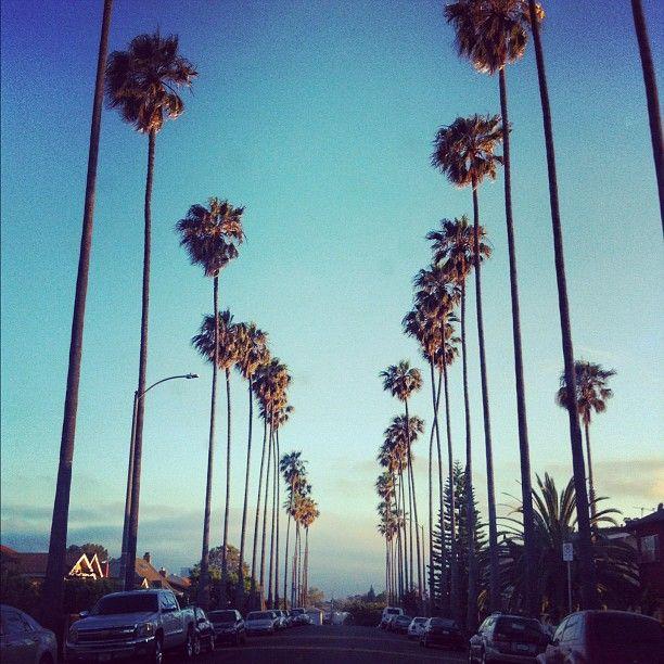 street in LA.