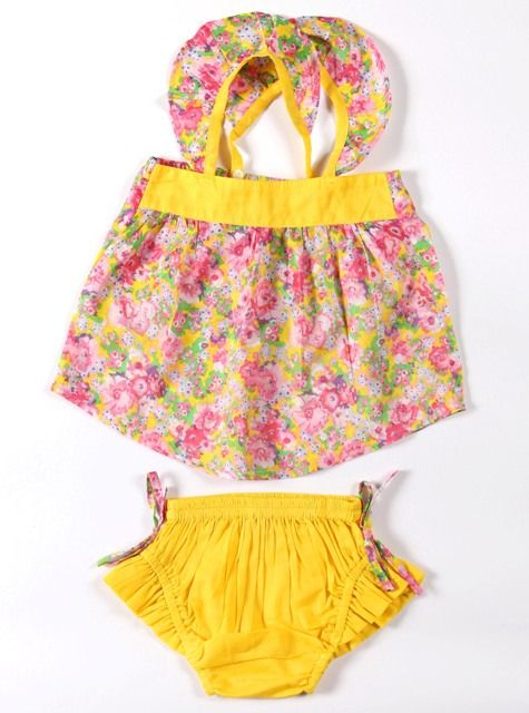 Coco & Ginger Sunday Set Mexican Flower Size 12 - 18mth  Size 18 - 24mth