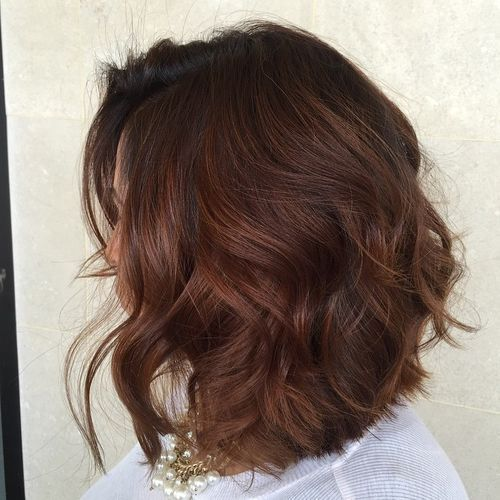haircut wavy hair 485 best ombre balayage highlights images on 4779