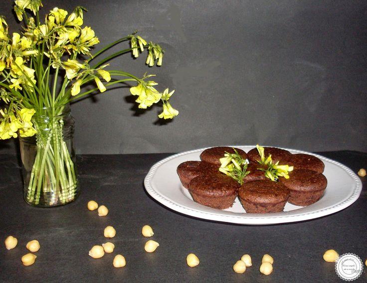 Coisas simples são a receita ...: Bolinhos de grão de bico e chocolate