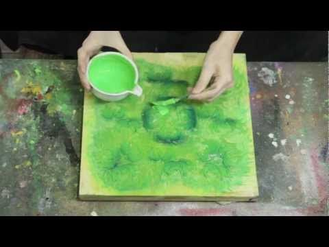 木版摺師、原田裕子さんと版を摺る。 - YouTube just wow - wait until you see the end result.  Master printmaker.