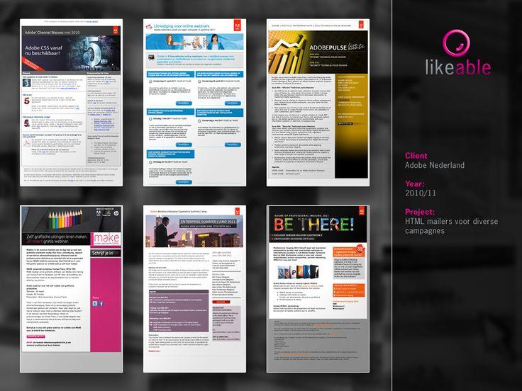 #LikeableDesign #MartijnKoudijs #MailingDesign #GraphicDesign #Adobe www.likeable.nl