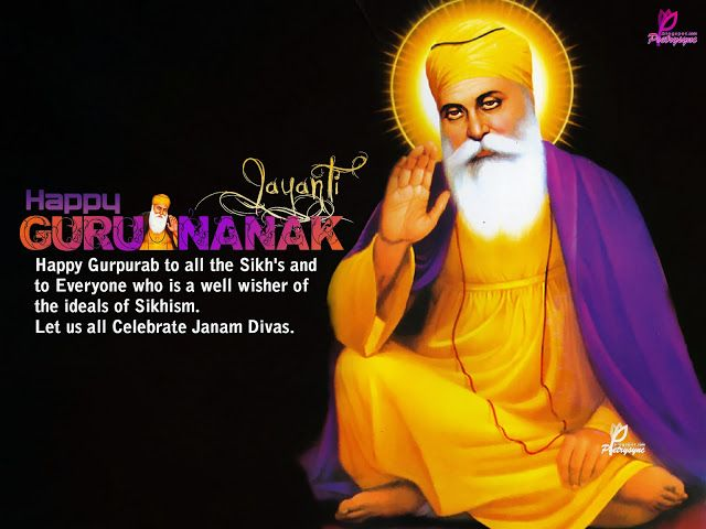 Poetry: Happy Guru Nanak Jayanti Quotes with eCards and Wallpapers