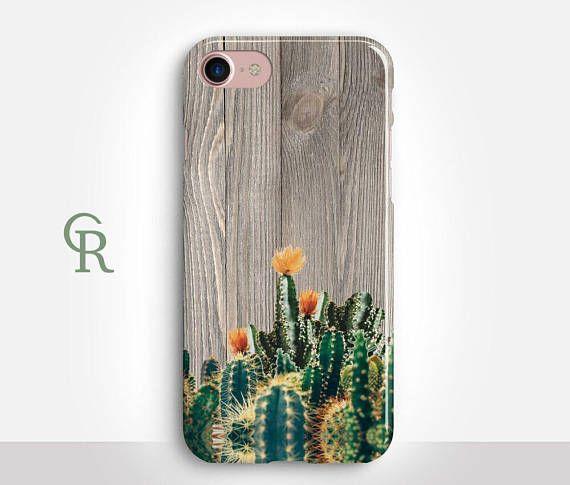 Cactus Phone Case For iPhone 8 iPhone 8 Plus - iPhone X - iPhone 7 Plus - iPhone 6 - iPhone 6S - iPhone SE - Samsung S8 - iPhone 5